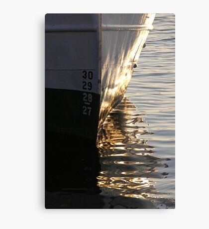 Gothenburg quayside reflections Metal Print