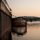 Trent Barge by Alexander Bampton