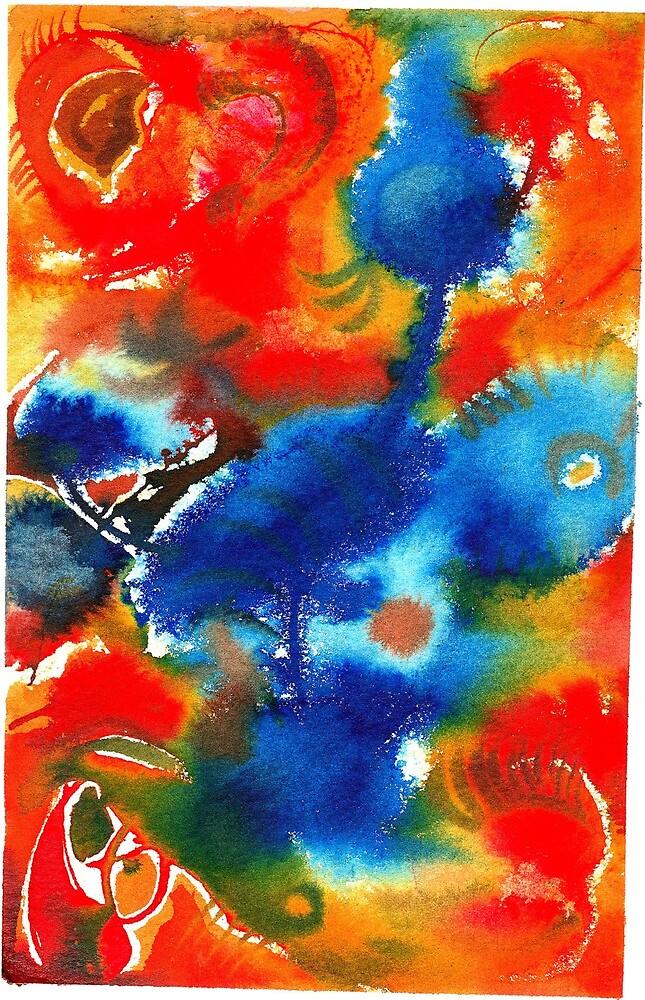 Blue Bird Fusion by ivDAnu