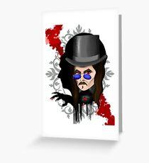 Dracula's Shadow Greeting Card