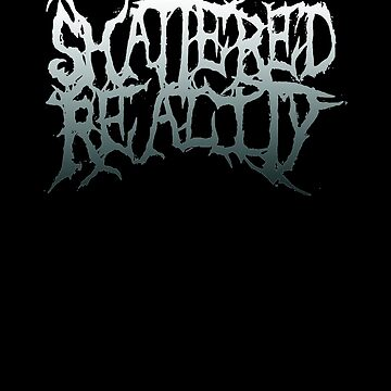 Shattered Reality Logo White by lolthatsfunny1
