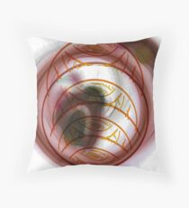 Faces / Layers Throw Pillow