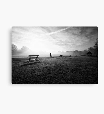 November Fog Canvas Print
