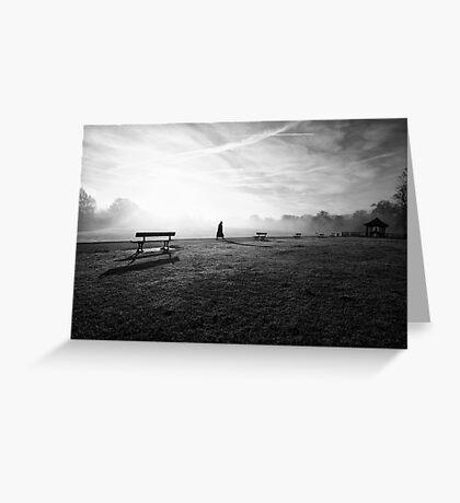 November Fog Greeting Card