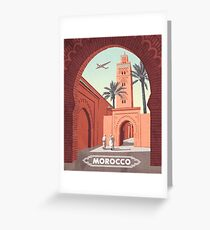 Morocco Greeting Card