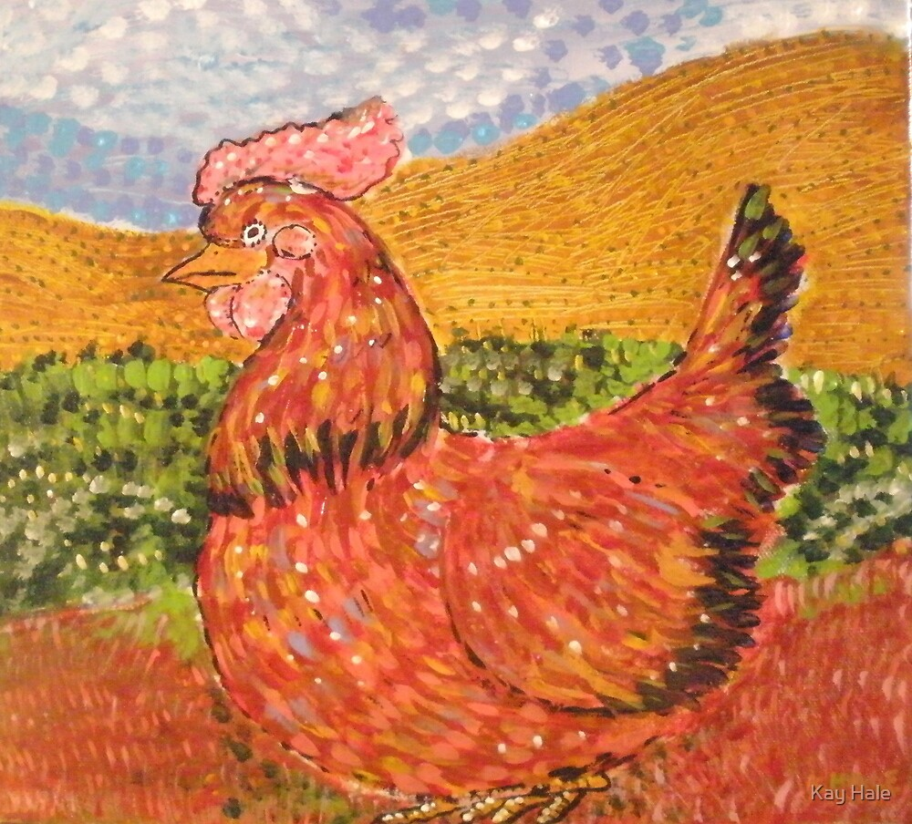 The Beautiful Hen by Kay Hale
