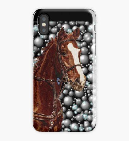 Horse & Bubbles iPhone Cases iPhone Case