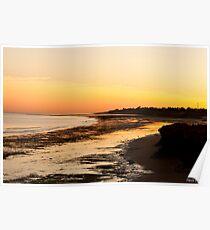 Sunrise Port Hedland Poster