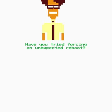 8-Bit Maurice Moss. by LurkingGrue