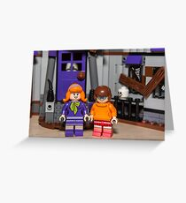 Velma and Daphne Greeting Card