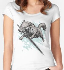 The Swordswolf Women's Fitted Scoop T-Shirt