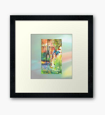Butterfly Beatitudes Framed Print