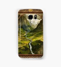 The Ring is taken to Rivendell Samsung Galaxy Case/Skin