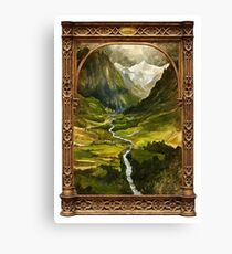 The Ring is taken to Rivendell Canvas Print