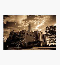 Mt Timpanogos LDS Temple Photographic Print