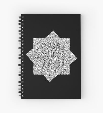 Random Field VI Spiral Notebook