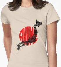 ANIME!!! Womens Fitted T-Shirt