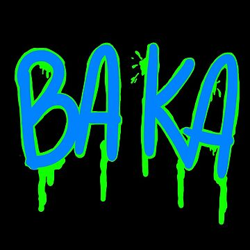 Baka Series- Black and Green by SinisterFoxx