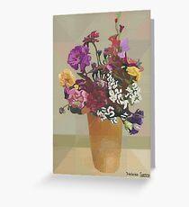 HC 10 Flowers 2 Greeting Card