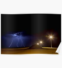 Electric Lights Poster