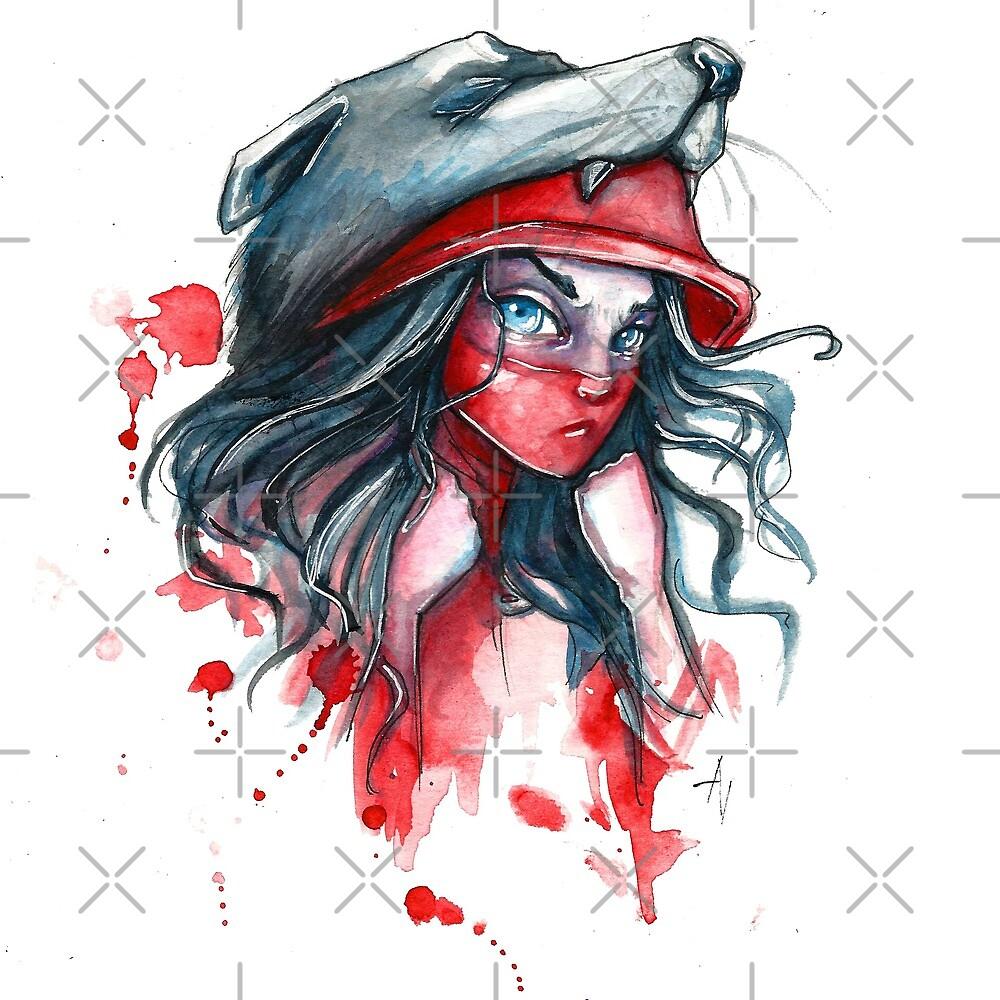 Wicked Red riding hood  by AV-art