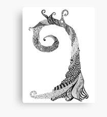 Ancient Lizard Tree T-shirt Canvas Print