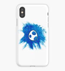 Blue Yoshi Egg iPhone Case