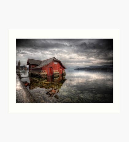 Life On The Lake Art Print