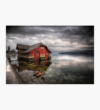 Life On The Lake Photographic Print