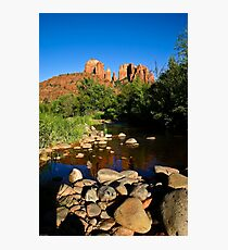 Cathedral Rock & Oak Creek Photographic Print