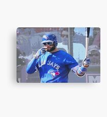 Kevin Pillar  Toronto Blue Jay Canvas Print