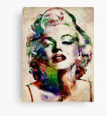 Marilyn Monroe Urban Art Canvas Print