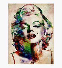 Marilyn Monroe Urban Art Photographic Print