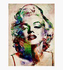 Marilyn Monroe Urban Art Photographic Print