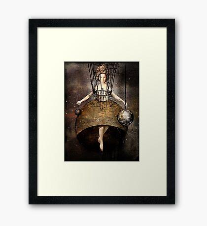 The world Framed Print