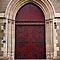 Red Old Doors