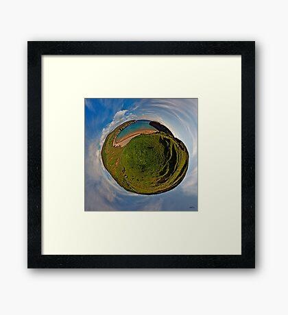 Silver Strand Beach, Malin Beg, South Donegal Framed Print