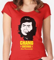 Chang Guevara Women's Fitted Scoop T-Shirt
