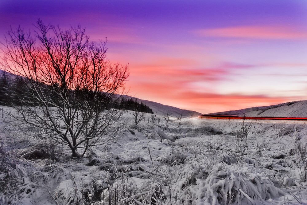 Campsie Snowscape by Don Alexander Lumsden (Echo7)