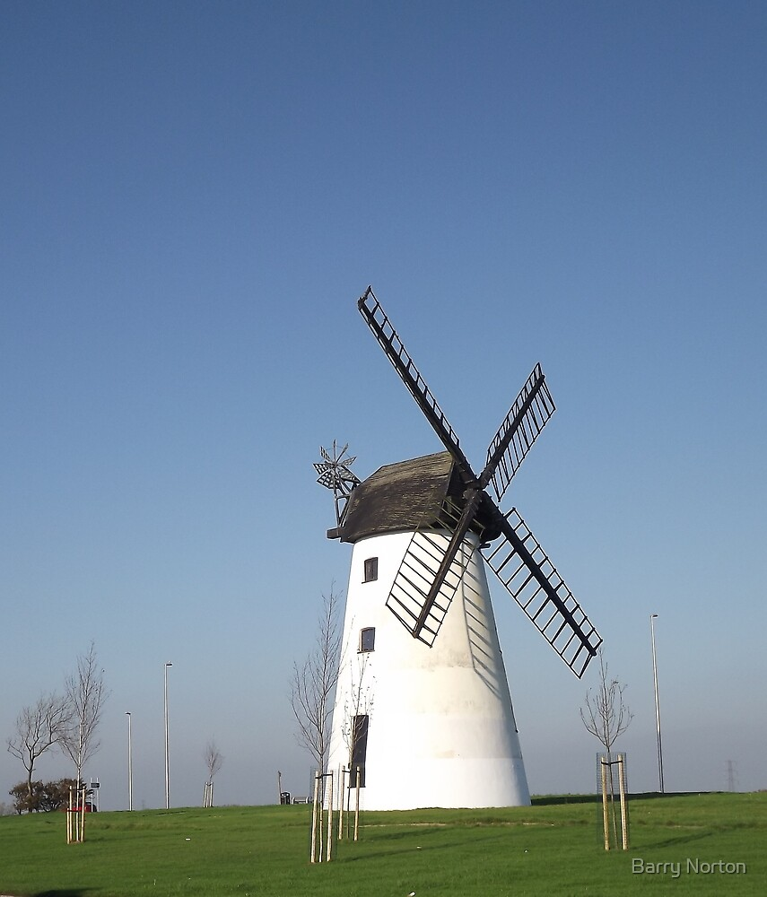 Little Marton Mill Blackpool by Barry Norton
