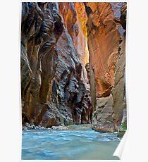 The Virgin Narrows, Utah Poster