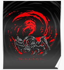 ... I'm... H... A... P... P... Y... Giygas Tee Poster