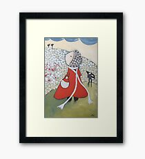 The day of the picking Framed Print