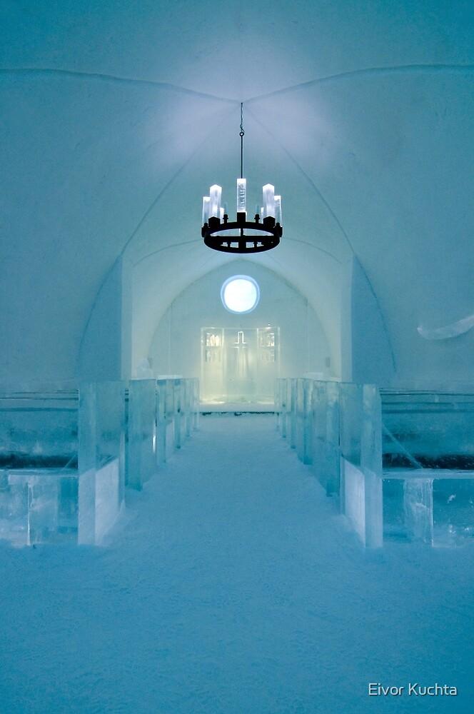 Ice church by Eivor Kuchta