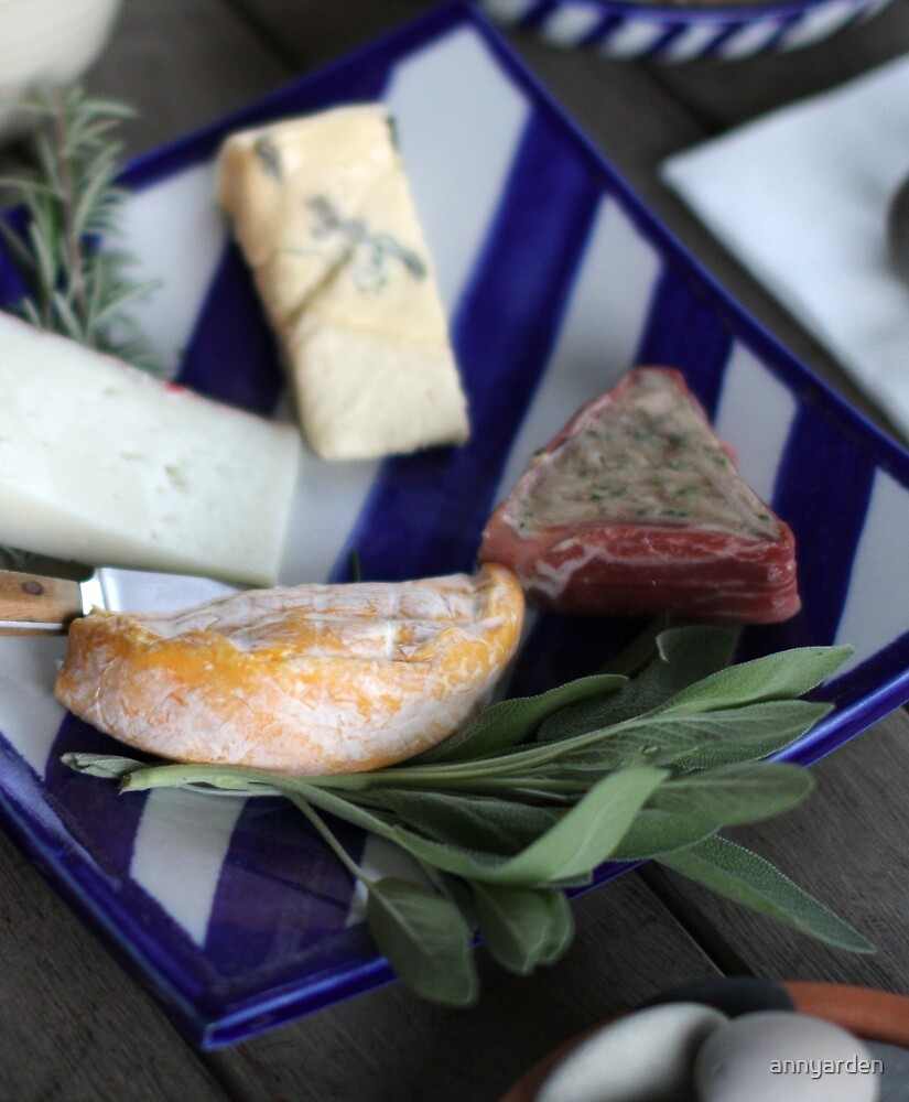 Cheese Platter by Anny Arden
