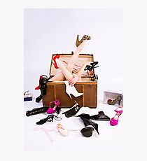 Shoe Addiction Photographic Print