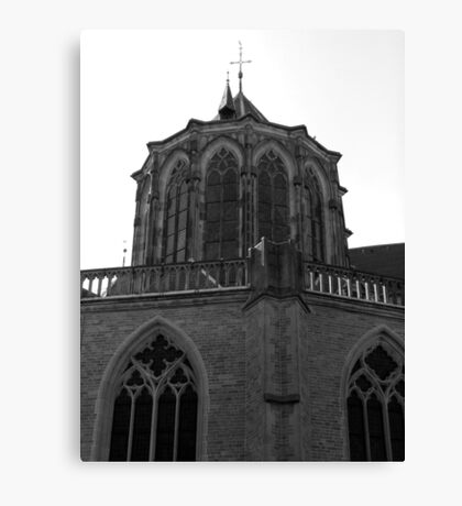 Churches (one of seventeen) in Kampen the Netherlands Canvas Print