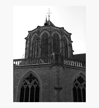 Churches (one of seventeen) in Kampen the Netherlands Photographic Print
