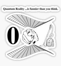 QUANTUM REALITY Sticker