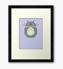 My Neighbor Totoroid Framed Print